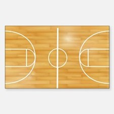 Basketball Court Decal