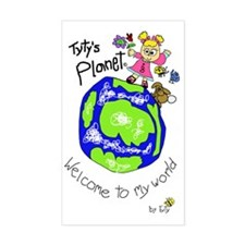 Tytys Planet Color Cover Decal