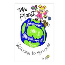 Tytys Planet Color Cover Postcards (Package of 8)