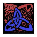 Celtic Dragon Tile Coaster