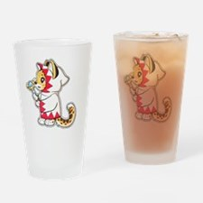 White mage Drinking Glass