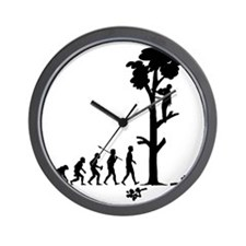 Tree-Trimmer2 Wall Clock