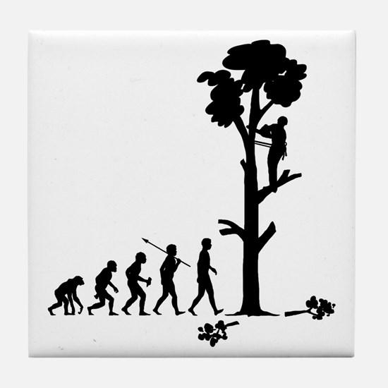 Tree-Trimmer2 Tile Coaster