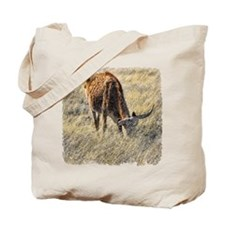 Lone Steer Tote Bag