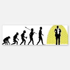 Standup-Comedian Sticker (Bumper)