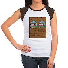 Math Teacher 4 Women's Cap Sleeve T-Shirt