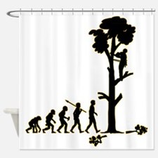 Tree-Trimmer3 Shower Curtain
