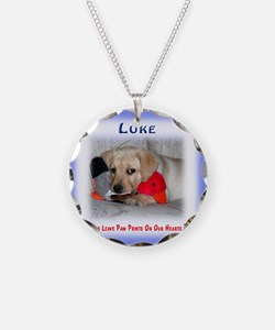 Personalized Critter Charact Necklace