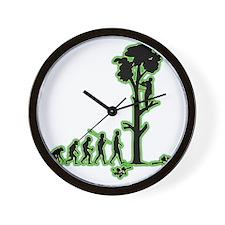 Tree-Trimmer4 Wall Clock