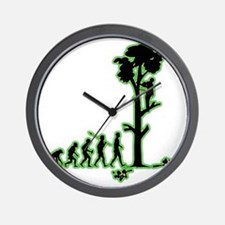 Tree-Trimmer4 Wall Clock