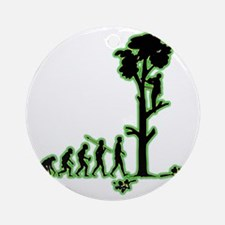 Tree-Trimmer4 Round Ornament