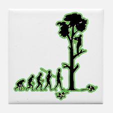 Tree-Trimmer4 Tile Coaster