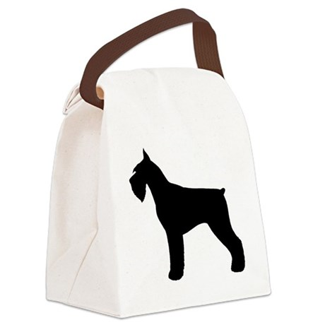 giantschnauzer Canvas Lunch Bag