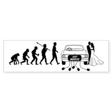 Just-Married2 Bumper Sticker