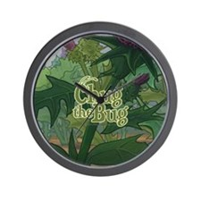 Flower Forest Wall Clock