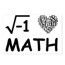 I Love Math Postcards (Package of 8)