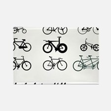All The bikes Ill ever own Rectangle Magnet