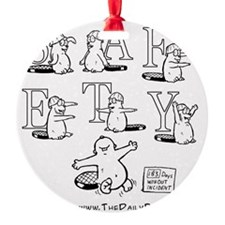 Safety Dance Ornament