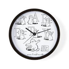 Safety Dance Wall Clock