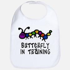 Butterfly In Training Bib