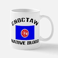 Choctaw Native Blood Mug