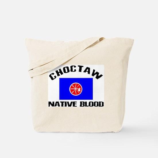 Choctaw Native Blood Tote Bag