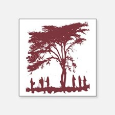 """Nature is Beautiful Square Sticker 3"""" x 3"""""""