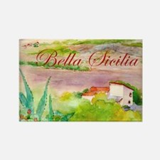 Bella Sicilia Rectangle Magnet