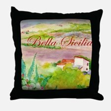 Bella Sicilia Throw Pillow