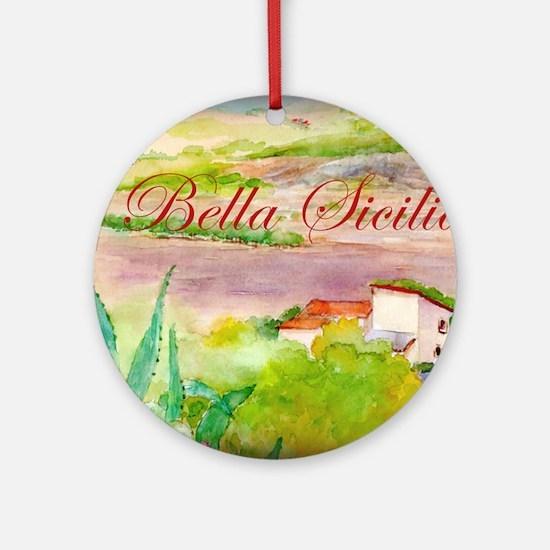 Bella Sicilia Round Ornament