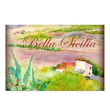 Bella Sicilia Postcards (Package of 8)