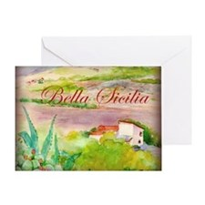 Bella Sicilia Greeting Card