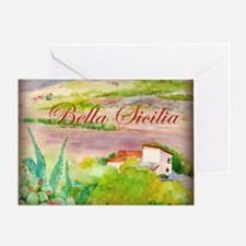 Bella Sicilia Greeting Card