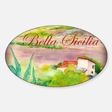 Bella Sicilia Decal