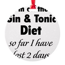 ginTonicDiet1A Ornament