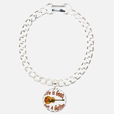 Life Is Good Got A Guita Charm Bracelet, One Charm