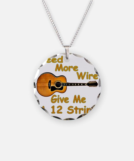 Give Me A 12 String Necklace Circle Charm