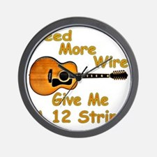 Give Me A 12 String Wall Clock