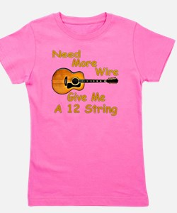 Give Me A 12 String Girl's Tee