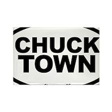 Charleston South Carolina, CHUCK  Rectangle Magnet