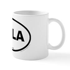 Columbia South Carolina EURO Oval Mug