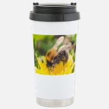 Macro Fuzzy Buzzy Bee Travel Mug