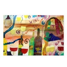 Wine Time Postcards (Package of 8)