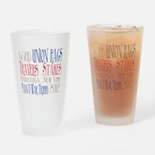 Union Rags - Travers Stakes 2012 Drinking Glass