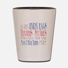 Union Rags - Travers Stakes 2012 Shot Glass