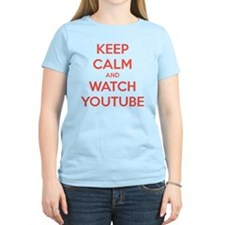 keep calm and watch youtube T-Shirt