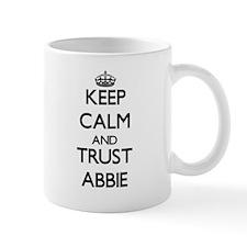 Keep Calm and trust Abbie Mugs