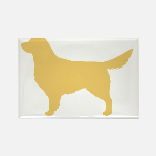 goldenretriever Rectangle Magnet