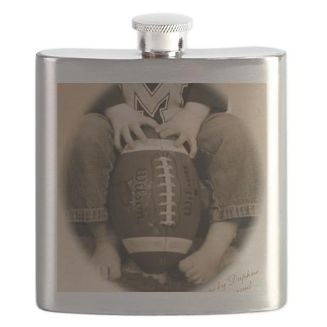 Toes-n-Football Flask