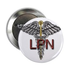 "LPN Medical Symbol 2.25"" Button"